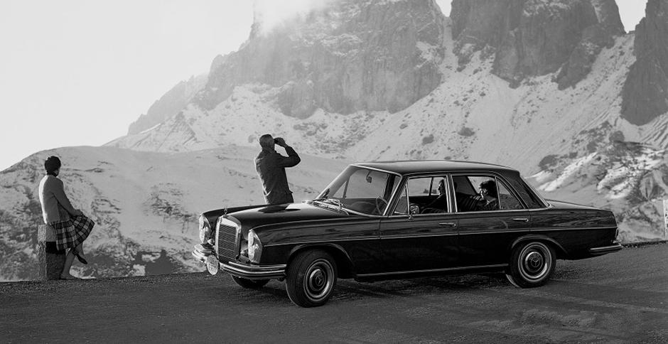 Mercedes-Benz Typ 250 SE aus dem Jahre 1965