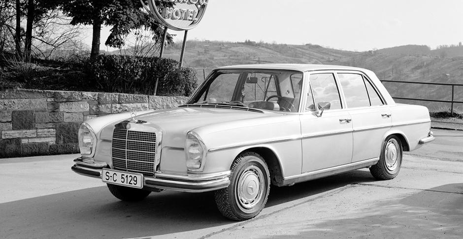 Mercedes-Benz Typ 280 S bzw. 280 SE aus dem Jahre 1967.