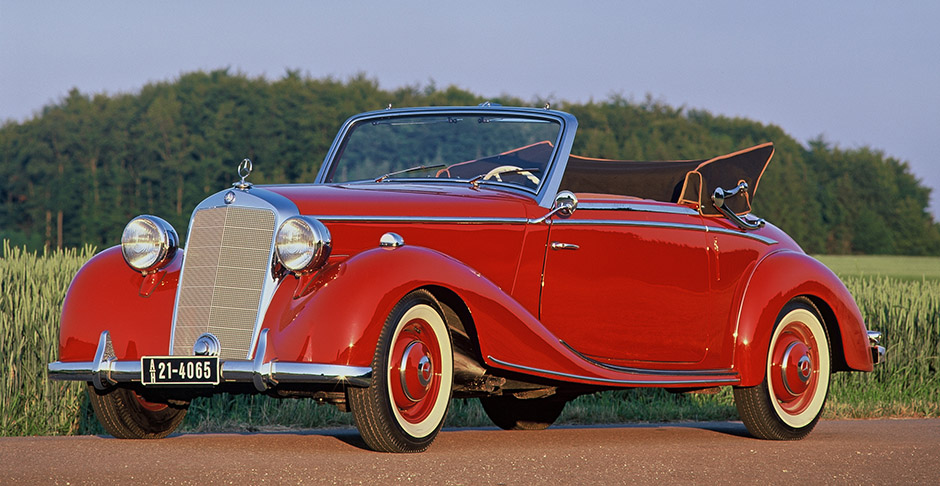 Jaunty 170S Cabriolet offered German enthusiasts something in which to once again celebrate motoring during immediate post-war era.