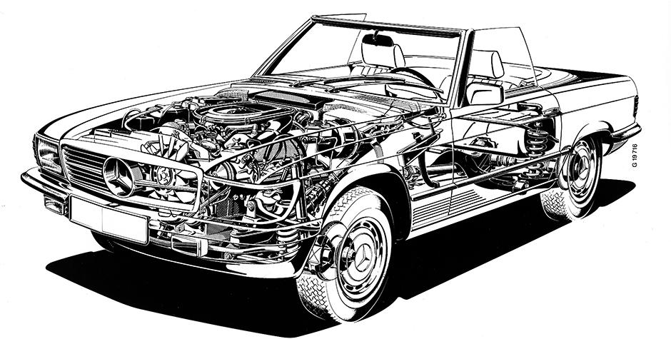 350sl-cutaway