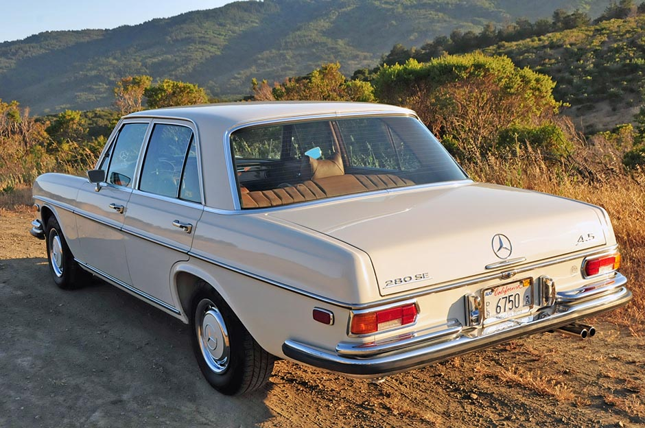 The 108 chassis: The perfect entry level classic Mercedes