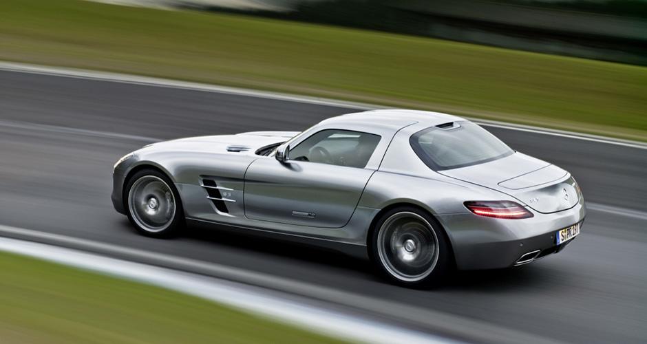 Mercedes-Benz SLS AMG ; Mercedes-Benz SLS AMG;