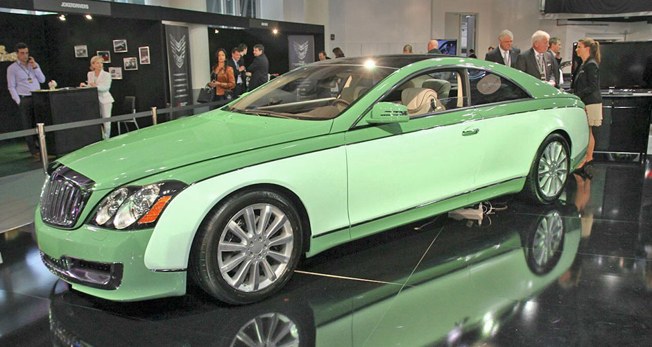 Maybach 57S Coupe by Xenatec - MercedesHeritage