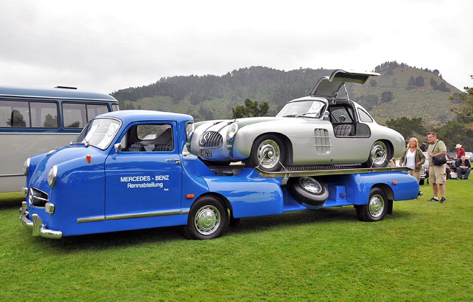 1955 Mercedes racing transporter Tribute - MercedesHeritage