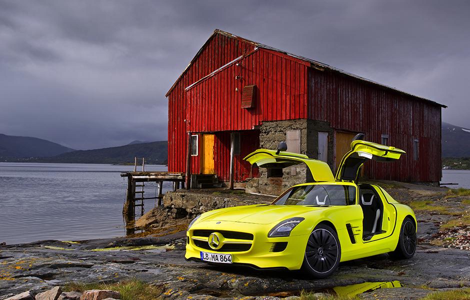 Mercedes-Benz SLS AMG E-CELL ; Mercedes-Benz SLS AMG E-CELL;