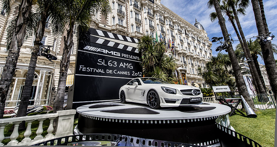 SL 63 AMG anlässlich des 65 jährigen Jubiläums der Filmfestspiele in Cannes SL 63 AMG for the 65th anniversary of the Cannes film festival