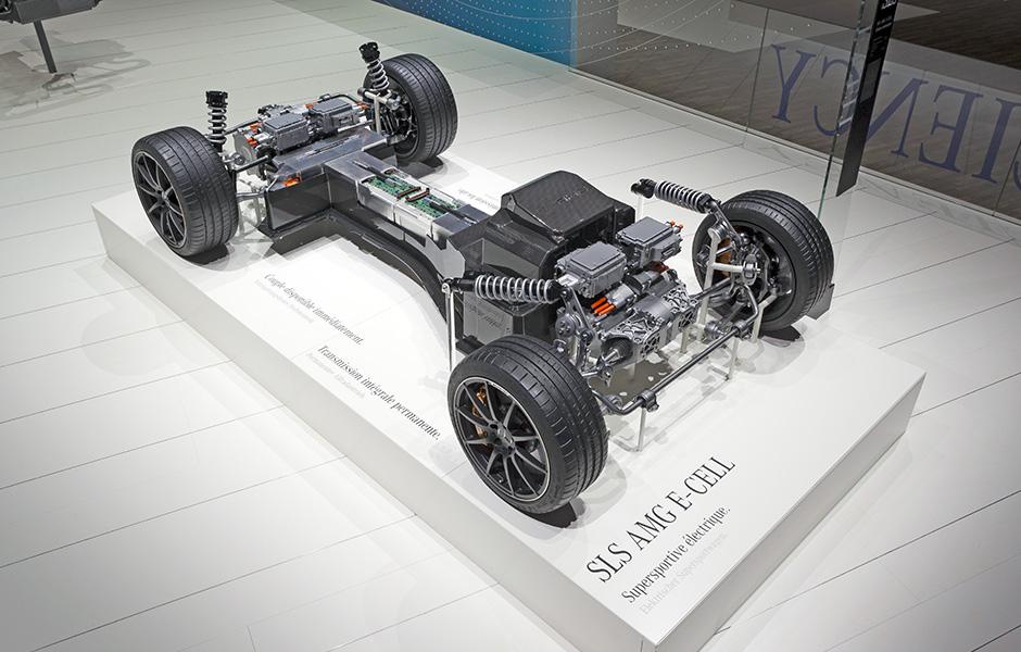Powertrain SLS AMG E-CELL