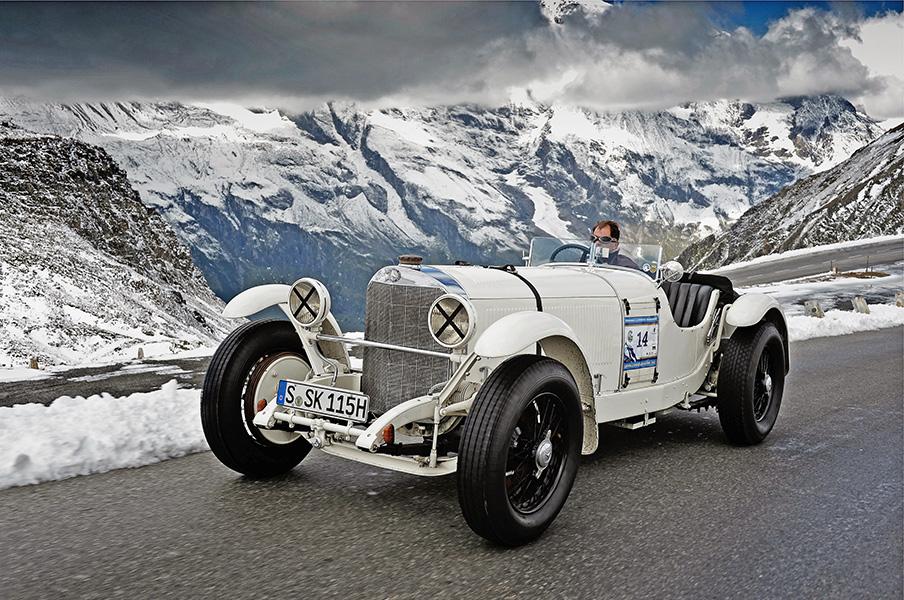 Mercedes-Benz Classic beim Großglockner Grand Prix 2012. Mercedes-Benz Typ SSK (1928).