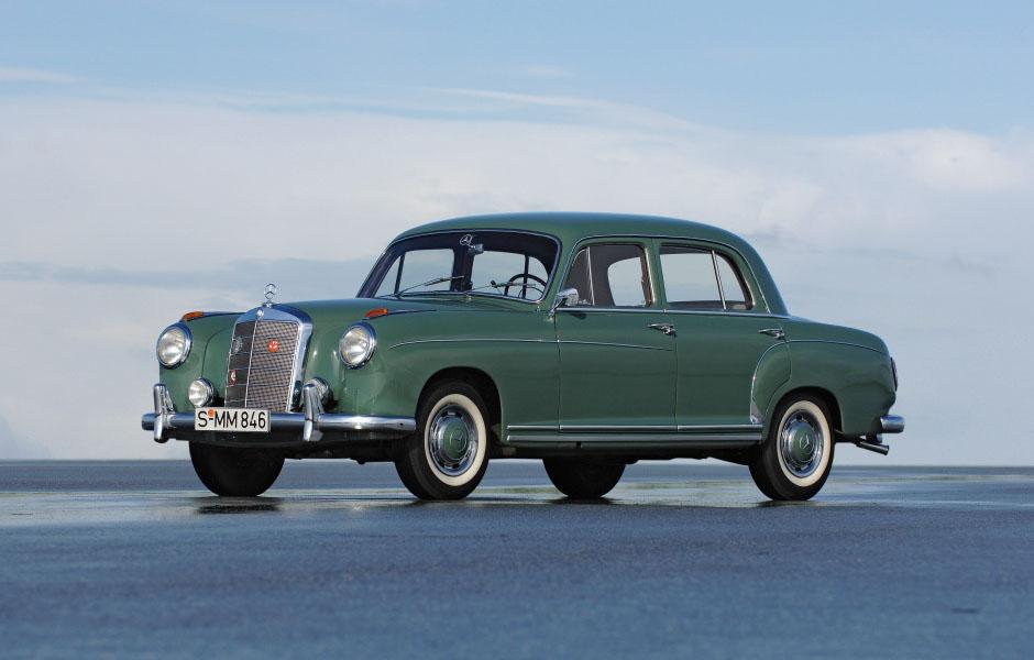 Mercedes-Benz Typ 220 - 220 SE (Baureihe W 180, 1954 - 1959) ; Mercedes-Benz 220 - 220 SE (W 180 series, 1954 - 1959);