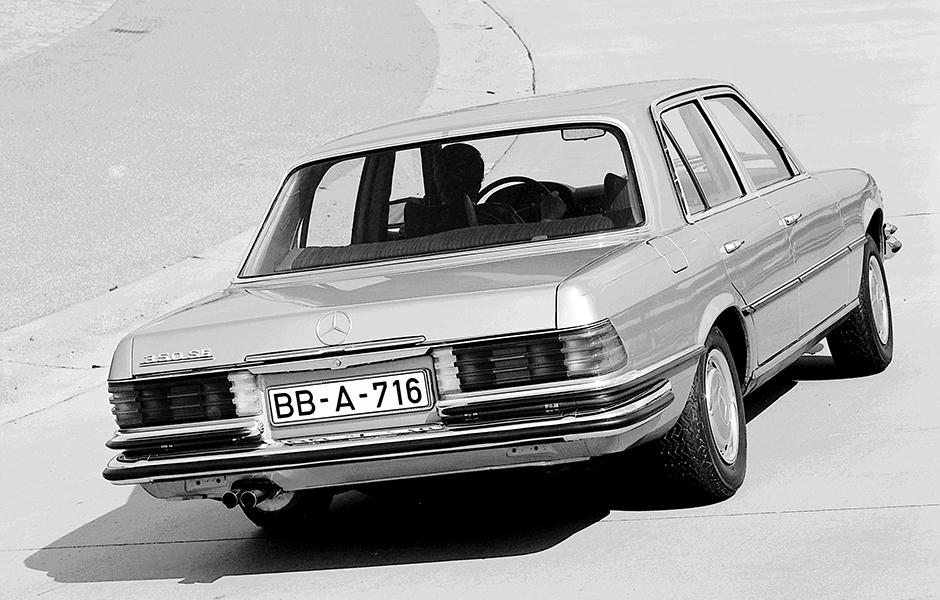 350SE rear