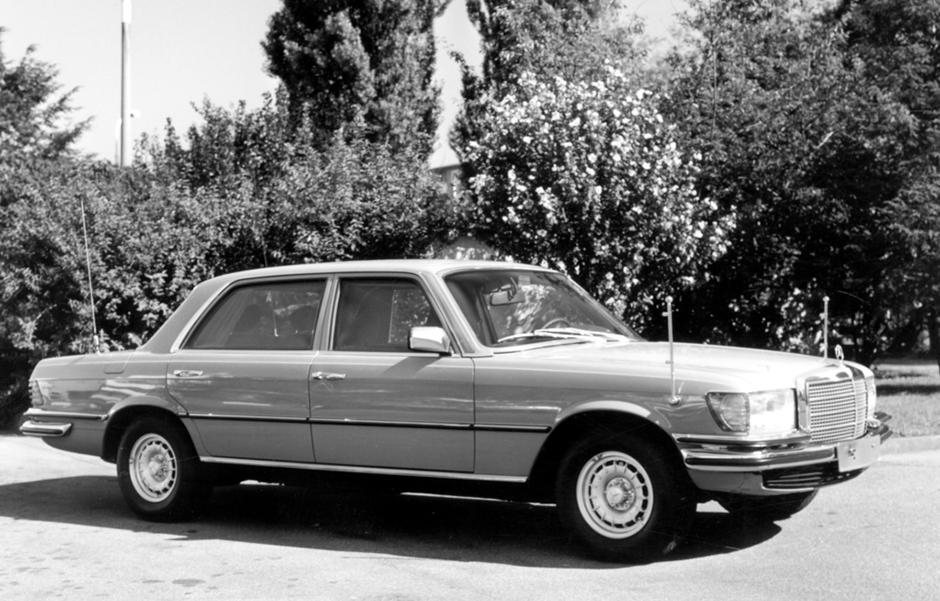 Mercedes-Benz Typ 350 SEL der Baureihe 116 ; Mercedes-Benz 350 SEL, W 116 series;