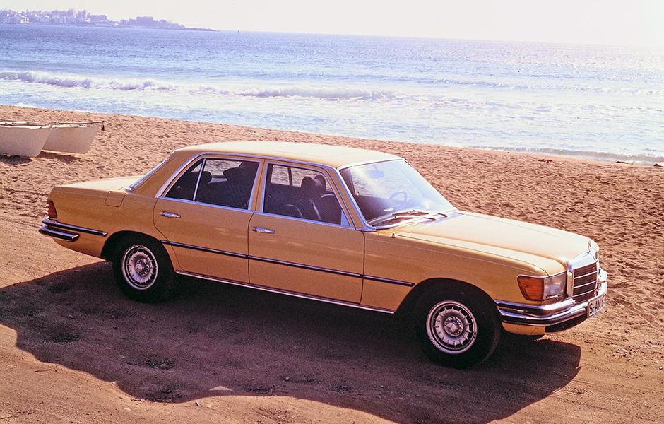 Mercedes-Benz 450 SEL 6.9 (Baureihe W 116, 1972 bis 1980) aus dem Jahre 1975. ; Mercedes-Benz 450 SEL 6.9 (W 116 series, 1972 to 1980), year of manufacture 1975.;