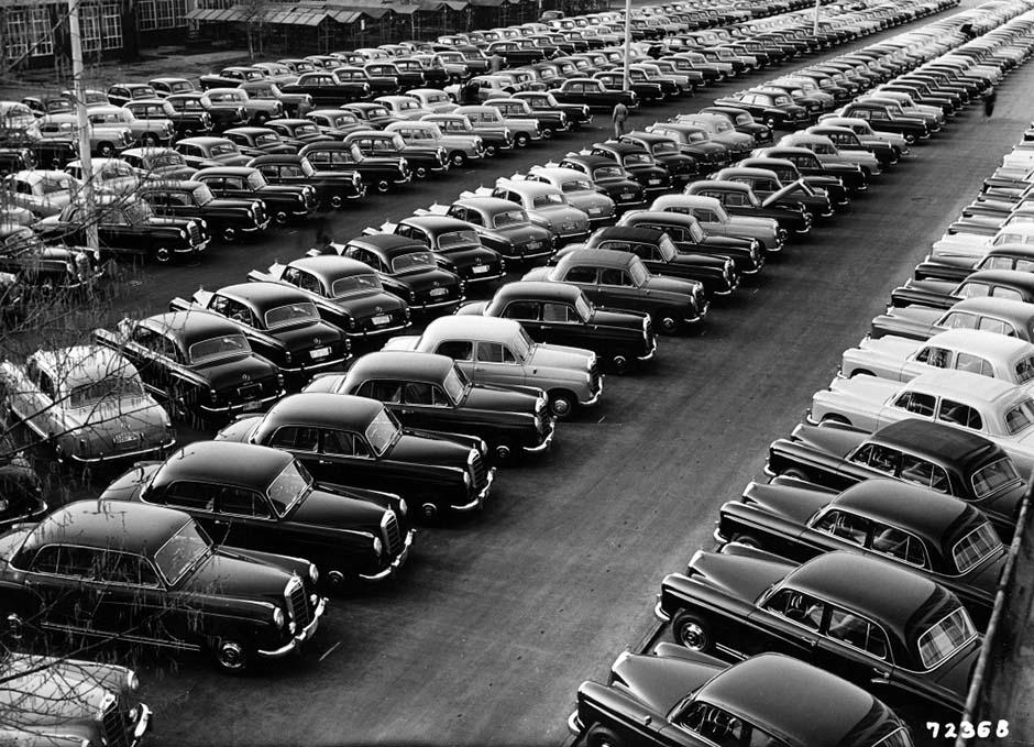 Pioneer of modern automobiles: Mercedes-Benz 180 - MercedesHeritage