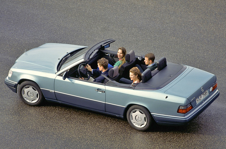 Mercedes-Benz Typ E 200 Cabriolet, Baureihe 124 Mercedes-Benz Typ E 200 Cabriolet, 124 series.