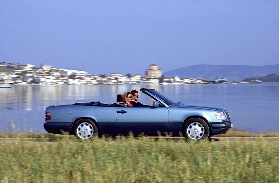 Mercedes-Benz E-Klasse-Cabriolet, Baureihe 124. Mercedes-Benz E-Klasse-Cabriolet, 124 series.