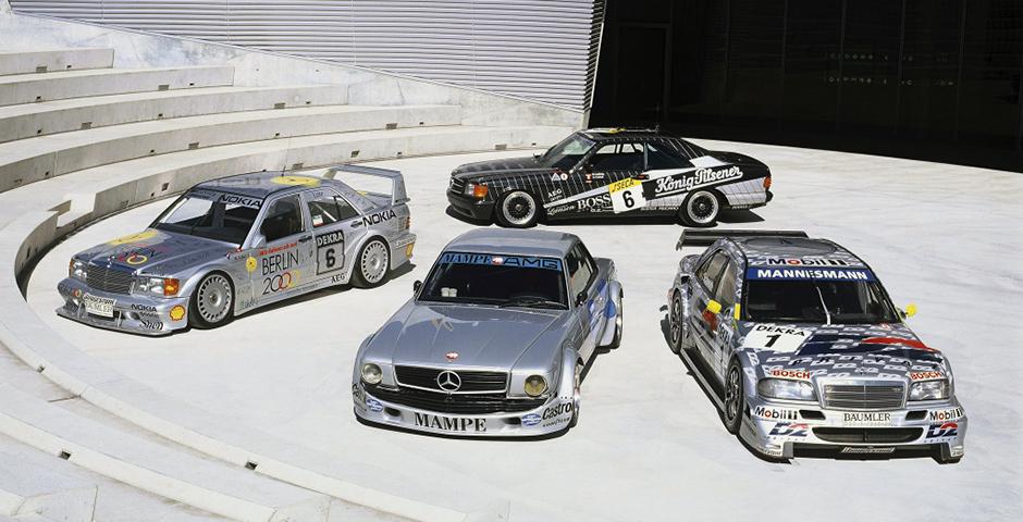 Meilensteine aus dem Rennsport Milestones of motorsport