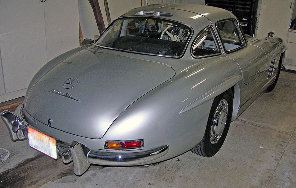 300SL, gullwing, 1954